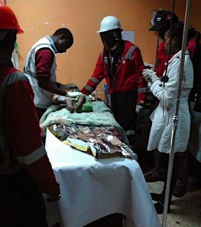 80時間ぶり1歳児救出 ケニア