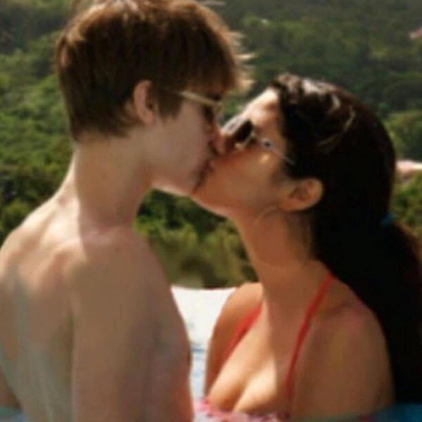 ジャスティン・ビーバーとセレーナ・ゴメスのキス写真、インスタグラムで最もいい