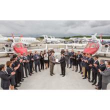 ホンダジェット、欧州航空安全局より型式証明を取得 - 販売は世界11拠点に