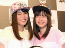 広瀬アリス&すず姉妹、顔そっくりで驚き バスケ写真公開
