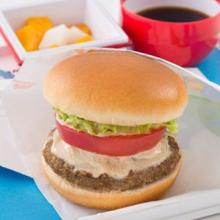 JAL×モスバーガー機内食「モス野菜バーガー」登場! 和ソースにアレンジ