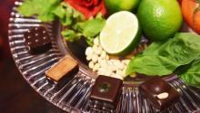 ミントやバラ使用の「ショコラ エテ」--フランスの人間国宝がつくる、イルサンジェーから