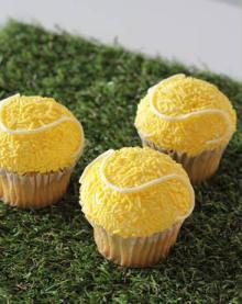 「ローラズ・カップケーキ東京」からテニスボールの限定カップケーキがお目見え!