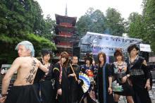 和楽器バンド、日光東照宮で奉納ライブ