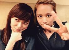 前田敦子、明るい髪色にイメチェン?「別人みたい」指原莉乃と2ショット