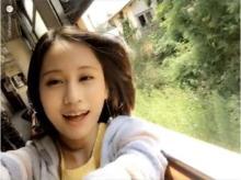 前田敦子のインスタ動画に「可愛い」の声殺到 CM撮影合間に電車で撮影