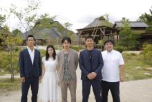 EXILE渾身の一作、来年公開の映画「たたら侍」が一足早く体感できる新感覚パークが誕生!