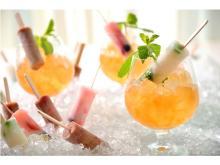 驚きのパクチーアイスキャンディーも登場!アイスキャンディー×お酒の新提案、ホテル椿山荘東京 空中庭園「シャンパンガーデン」開催