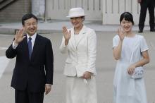 皇太子ご一家、神武天皇陵参拝=愛子さまは初めて-奈良・橿原市