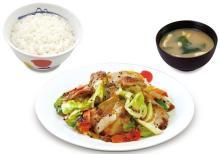 国産野菜100%!松屋に「スタミナ肉野菜炒め」--黒コショウ&ニンニクで食欲を炊きつけろ