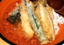 ひんやりサックサク!だしジュレで食べる冷やし天丼がウマすぎ--行列のできる店「串天ぷら 段々屋」