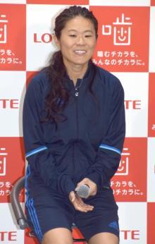 澤穂希さん、妊娠発表後初公の場 性別や名前は「まだです」