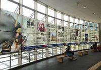 石田三成ゆかりの米原駅に現れた横断幕 三成への愛が溢れすぎてやばいとTwitter民ざわつく