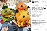 可愛すぎぃぃぃ! オーストラリアでポケモンがキュートなハンバーガーになって登場