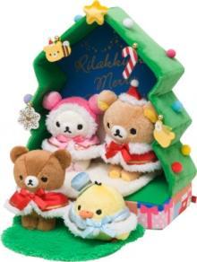 リラックマの仲間たちと楽しむクリスマスグッズ発売