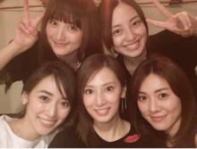 安座間美優、北川景子含めセーラー戦士5人の集合写真を公開