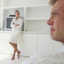 テレビの受信契約の事で夫を怒らせてしまいました