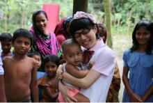 お嬢様芸人・たかまつなな バングラデシュコラムで日本人女性を絶賛