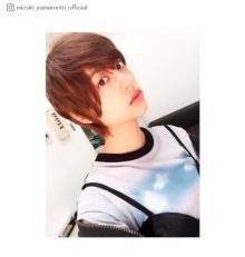 山本美月「完全に男」ショートヘア披露「美男子すぎる」「付き合いたい」と反響