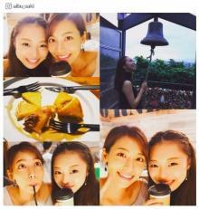 相武紗季、姉・音花ゆりとの2ショットがどれも美しい 「仲良しで憧れ」「美人姉妹」と反響