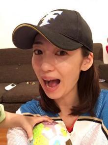 飯田圭織 ファイターズ優勝に大感激「とっても泣きました」