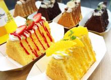 【食べてみた!】ワンハンドで食べるふわカリ食感のシフォンケーキ