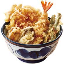 天丼てんや、プリプリのかきが入った海鮮天丼と銘柄鶏の肉天丼を発売