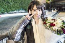HKT宮脇咲良、初の単独主演作クランクアップに達成感