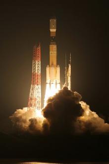 こうのとり、ISSへ=H2Bで打ち上げ成功-過去最大5.9トン輸送・種子島