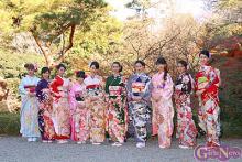 武井咲、剛力彩芽、河北麻友子らオスカー美女が晴れ着撮影会にズラリ