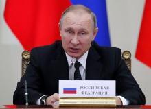 米政権交代前に存在誇示=シリア情勢でロシア大統領