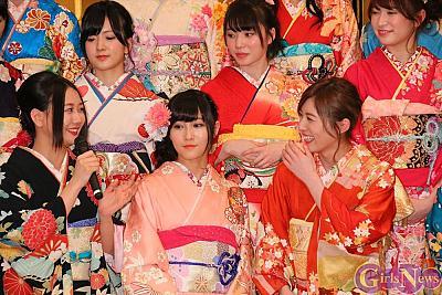 松井珠理奈「背中を追い続けたいと思われる先輩でいたいのでセンターは譲りません!」 AKB48グループが成人式