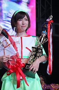 清瀬まち、ファンが選ぶ「レースクイーン大賞」のグランプリを受賞