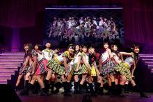 AKB48 16期生、初の単独コンサート開催 10年前のファーストコンサートのセットリストを再現