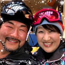 北斗晶が結婚後初めて見た夫・健介のスキーウェア姿 その理由