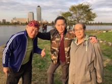 泉谷しげるが北大路欣也&志賀廣太郎と『三匹のおっさん』姿公開