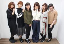 アニメ『アイドル事変』からインタビューが到着! 八島さらら、渕上舞、上田麗たち声優陣が2017年の公約を語る