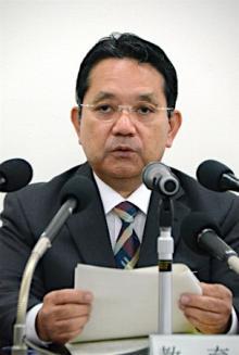 前副知事の口利き認定=沖縄県教委