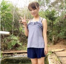 保田圭 藤本美貴プロデュース「体型隠せる水着」を着た姿公開