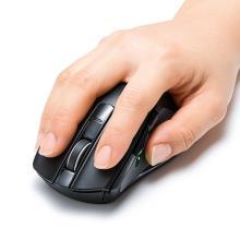 サンワ、クリック数や操作距離を測れる心拍センサー搭載マウスを発売