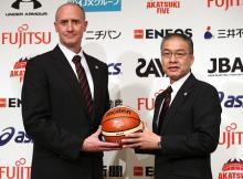元NBAのホーバス新監督発表=目標は「メダル獲得」-バスケット女子代表