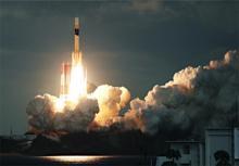 防衛省の通信衛星打ち上げ