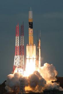 防衛省の通信衛星打ち上げ=北朝鮮ミサイルなど有事対処-H2A32号機で・種子島