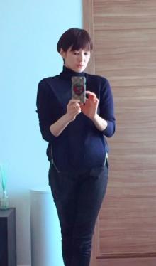 吉瀬美智子 産後太りを娘に指摘された写真公開「ショック」