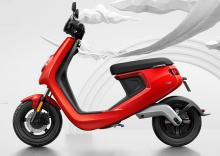 欲しいかも?…メイドインチャイナの電動バイク、Niu「M1」