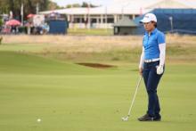 畑岡奈紗、今季初の決勝ラウンドを終えて「4日間できて幸せだった」