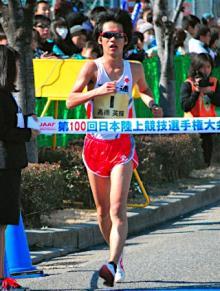 高橋、世界陸上代表に=競歩