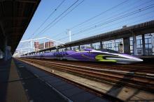 「エヴァ新幹線」のツアー専用列車が初運行―いつもはいけない場所で降車可能