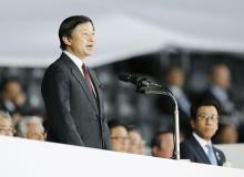 皇太子さまが開会宣言=天皇陛下の名代で-冬季アジア大会