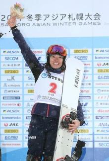 家根谷が金メダル-スノーボード=カーリング女子は準決勝へ-冬季アジア大会